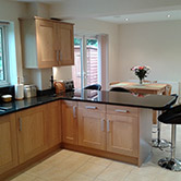 Modern style wood kitchens Solihull