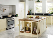 Traditional Painted Wood Kitchen Installations